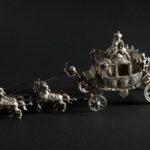 solniczka w kształcie wozu konnego, XX wiek