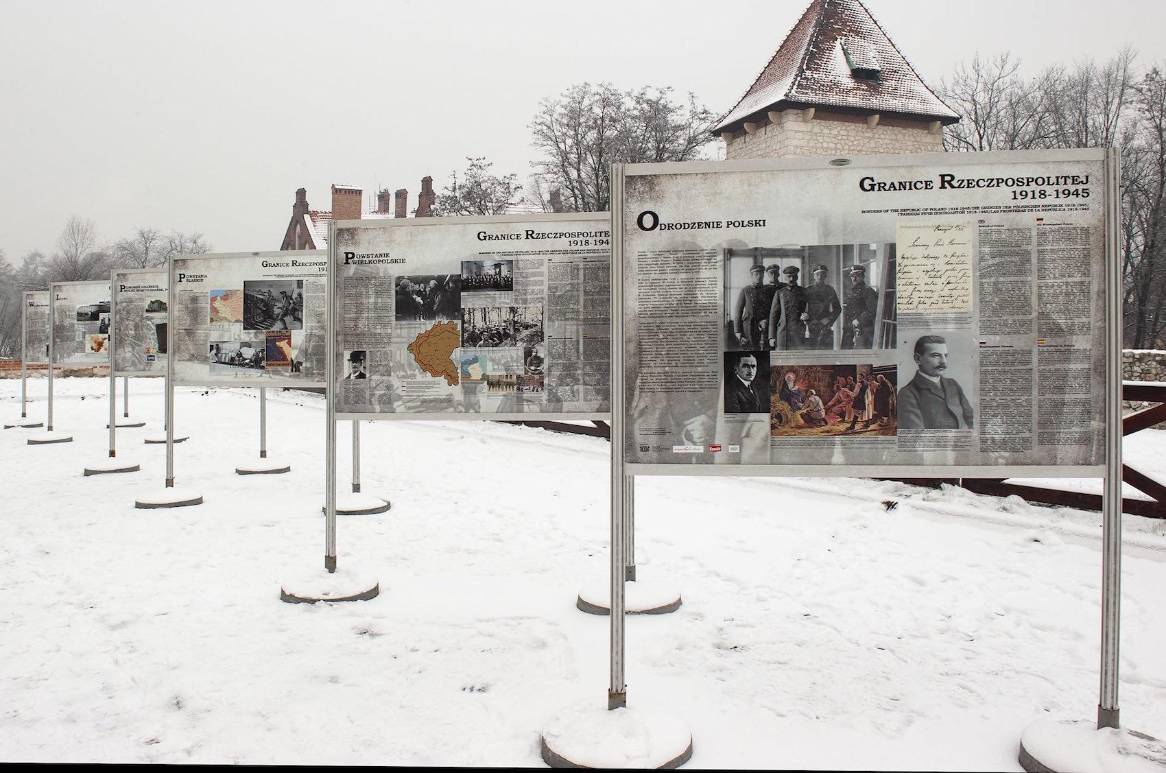 Wystawa: Granice Rzeczypospolitej 1918-1945